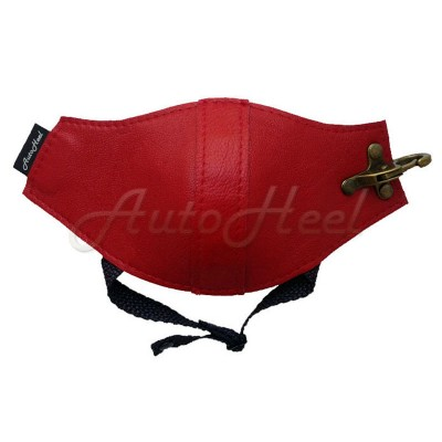 Классик красная , застежка карабин